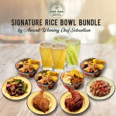 Signature rice bowl bundle